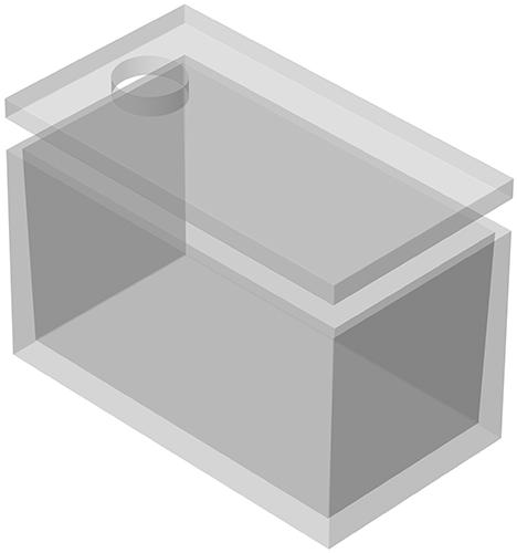 vasca rettangolare scala : VASCA MONOLITICA RETTANGOLARE da 12.000 a 25.000 litri MECV CEMENTI
